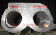 MODIFICACION MEJORA COLECTOR ADMISION MOTOR