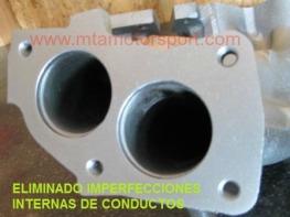 MODIFICACION MEJORA COLECTOR DE MOTOR- ESCAPE FUNDIDO-2