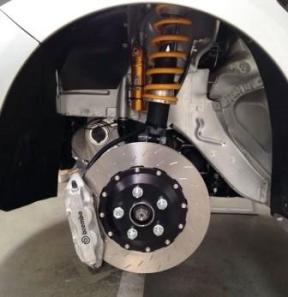 suspension delantera sport y competicion con doble muelle helper y botella de gas nitrogeno separada - regulacion suspension