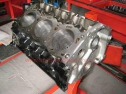bloque motor V6 listo para montaje