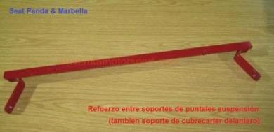 barra refuerzo inferior delantera seat panda-marbella - 1