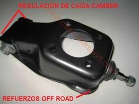 mangueta delantera version off road reforzada seat panda y marbella con regulacion