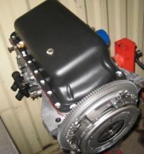 carter de motor restaurado