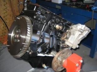 motor en restauracion